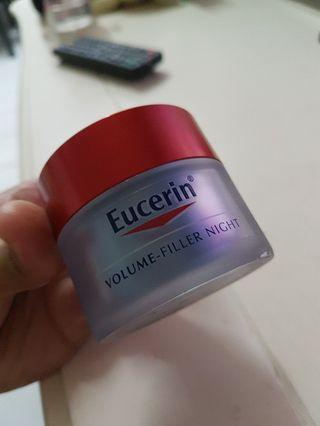 Eucerin Night cream 50 ml left 95%
