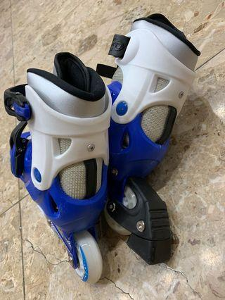 LAKOKO ABEC-7 直排輪 +護具+頭盔