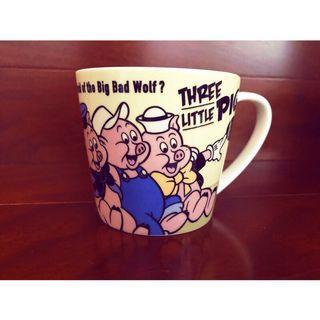 迪士尼三隻小豬馬克杯