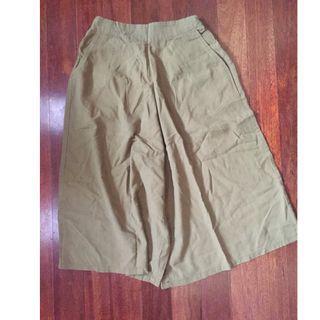 Olive Green Linen Pants