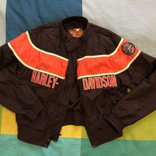 Vintage Harley Davidson Racer Bomber Jacket
