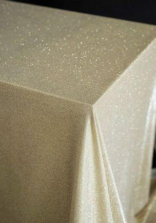 Champagne Table Cloth