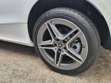 """AMG 18"""" Rims & Tyres New"""