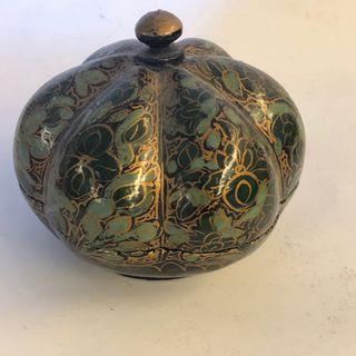 阿拉伯神燈手工藝品珠寶盒 八寶盒 收納飾品小物 精緻 國外帶回