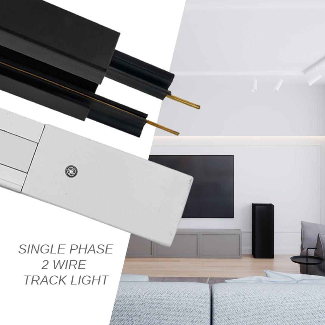 2M TRACK RAIL for LED TRACKLIGHTS