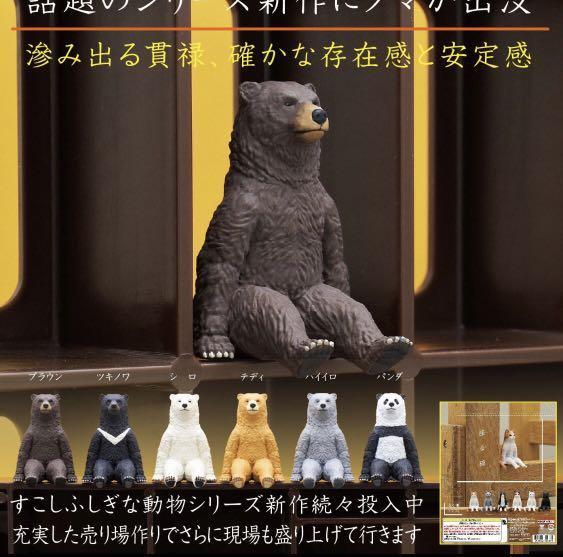 扭蛋。坐下的熊