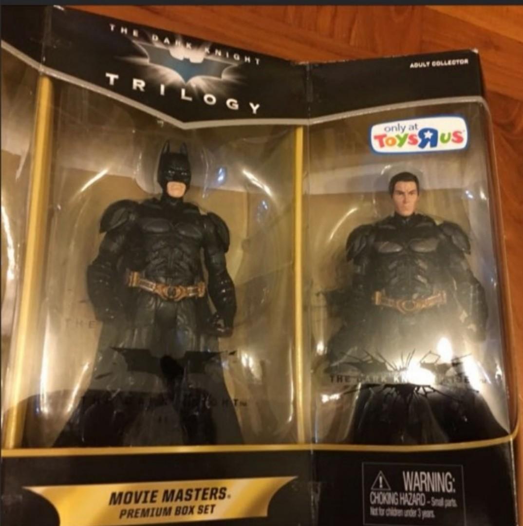 蝙蝠俠 黑夜之神 電影版Box Set 全新