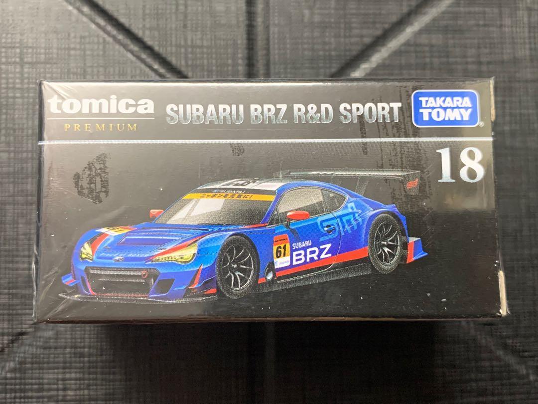 全新!!! Tomica Premium 18 Subaru BRZ R&D Sport