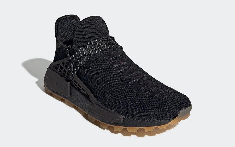 pharrell williams adidas shoes black