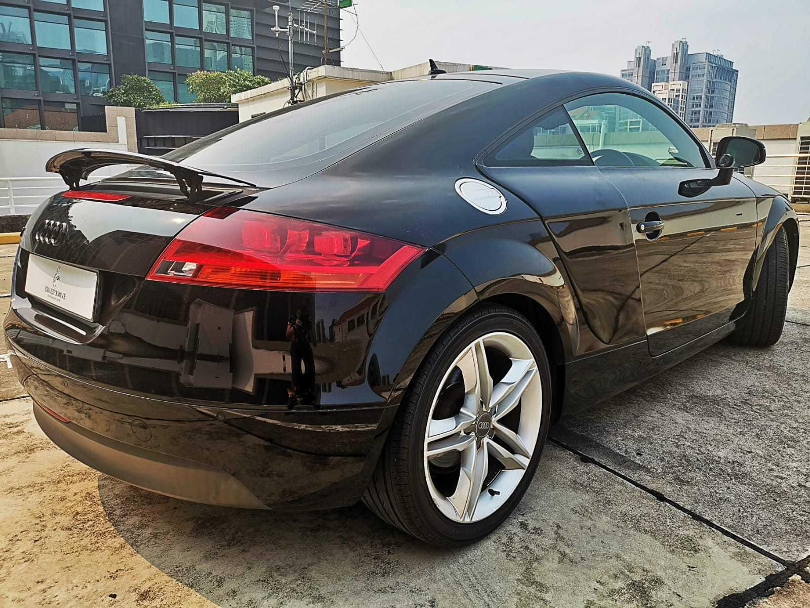 Audi TT Coupe 2.0 TFSI quattro S tronic Manual