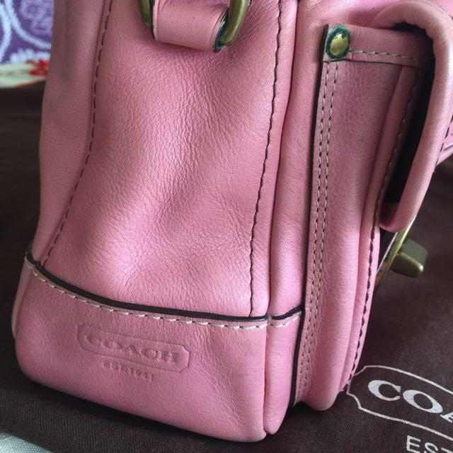 Authentic Coach Tote