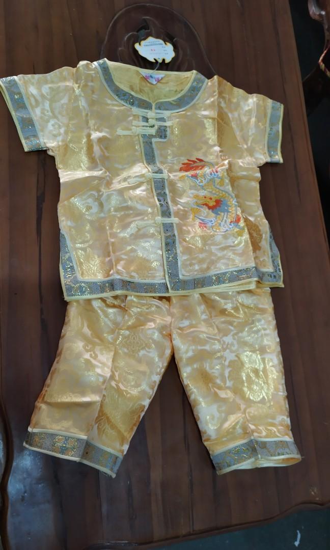 Baju imlek anak laki laki 2-6th