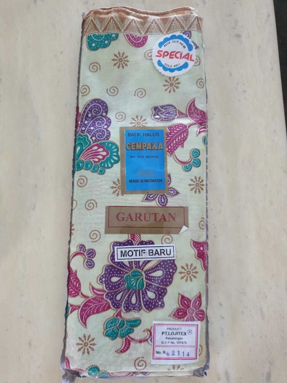 Batik Halus Fabric (Made from Indonesia)