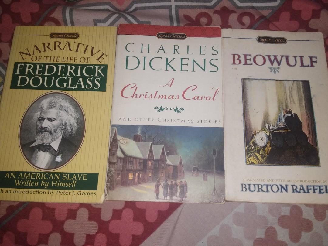 Beowulf , Christmas Carol, and Narrative of Frederick Douglass : Signet Classic books Assorted