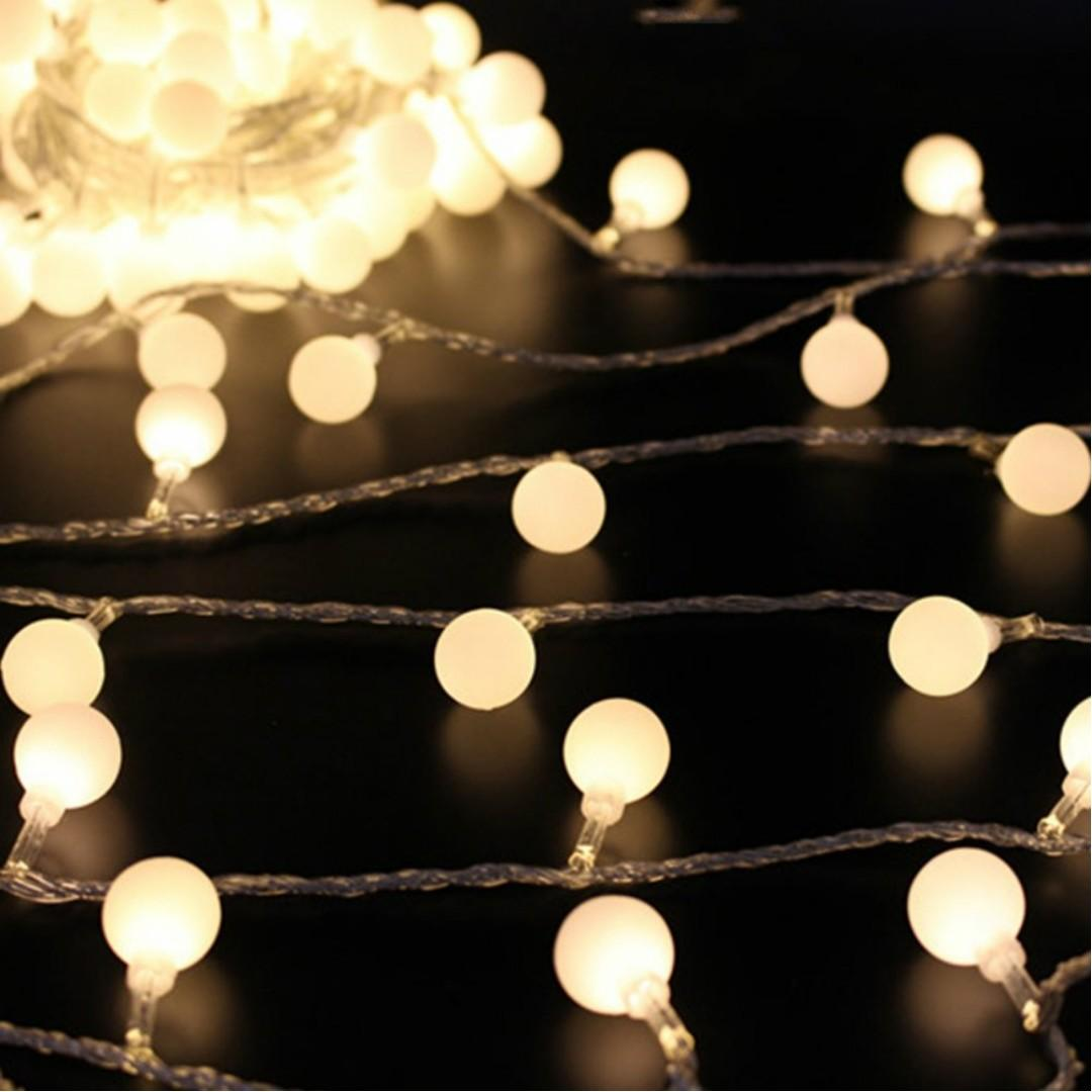 C761 Led String Lights Battery Powered Outdoor Decorative Lights Waterproof Globe String Lights For Bedroom Garden Christmas Tree Wedding Party Electronics Others On Carousell