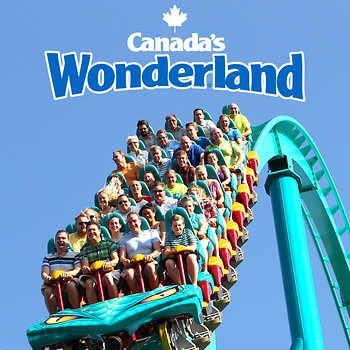 Canada's wonderland daily tickets