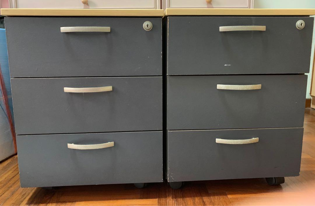 Chest Of Drawers X 2 Furniture