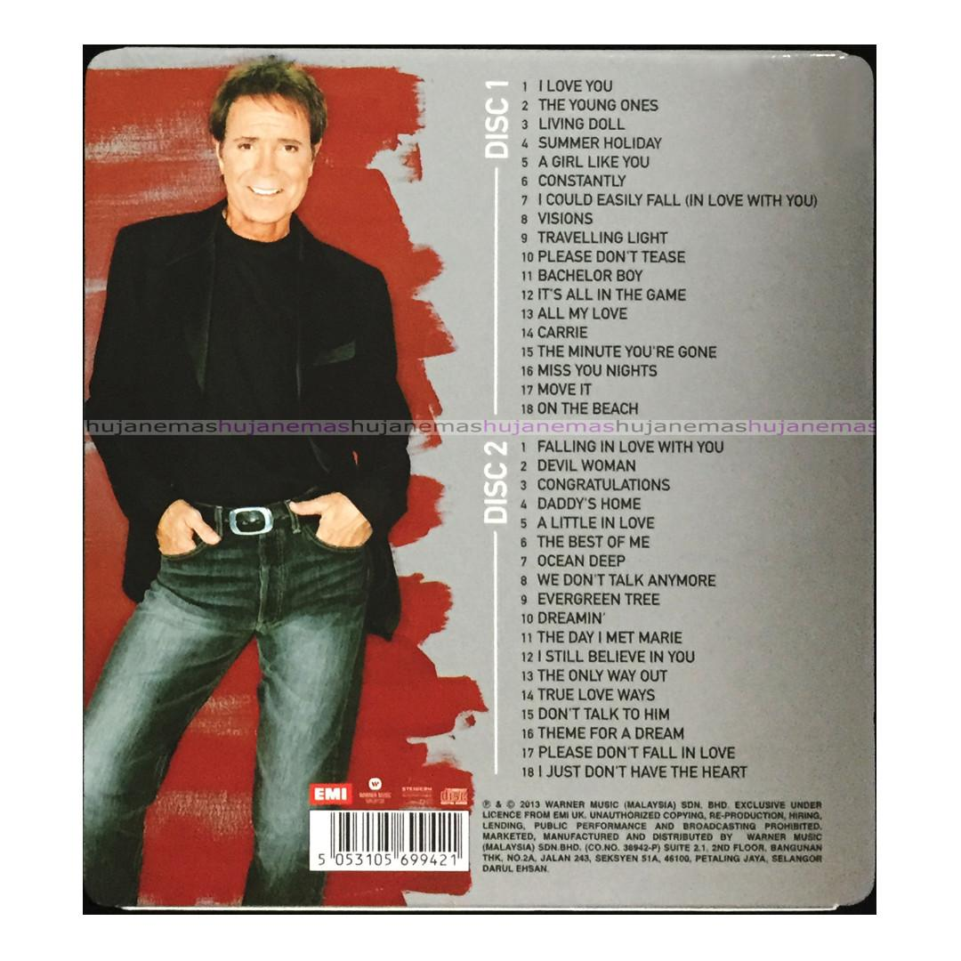 CLIFF RICHARD - The Ultimate Collection SUPER DELUXE 2 CD SET + SLIPCASE (brand new and sealed)