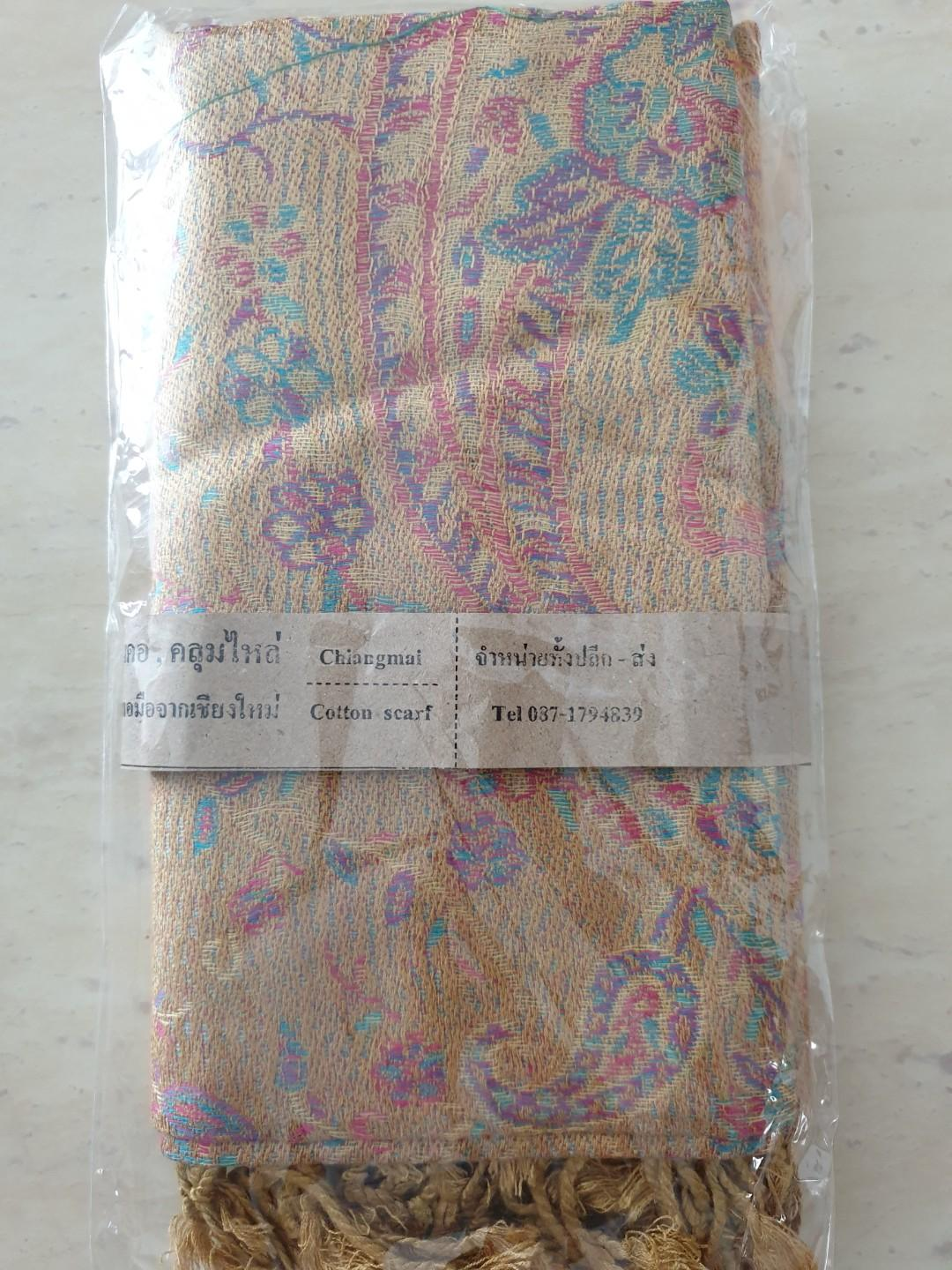 Cotton Scarf (Made from Thailand)