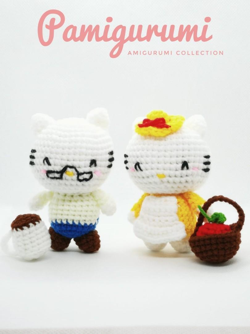 Hellø Kitty Crochet. // JUST...2...CUTE!!! =) A | Hello kitty ... | 1080x810