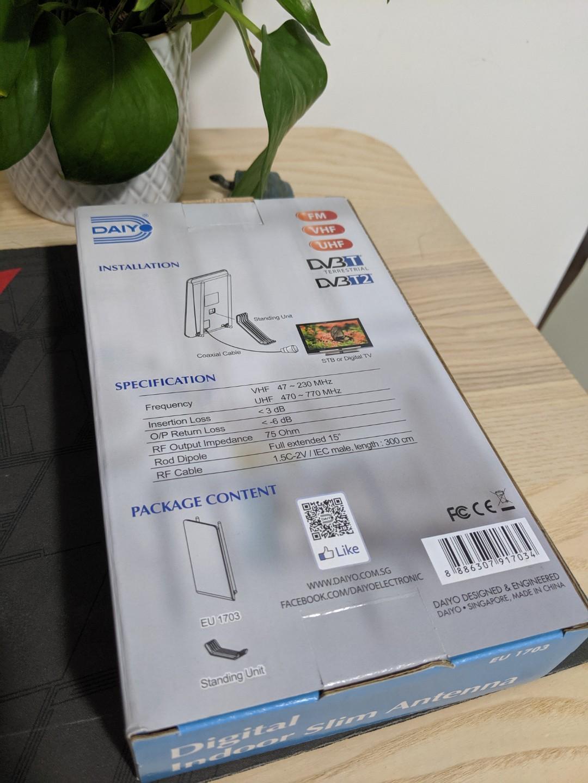 Digital Indoor Slim Antenna EU1703