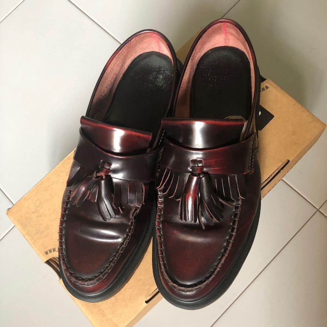 Dr Martens Adrian Cherry Red Rouge