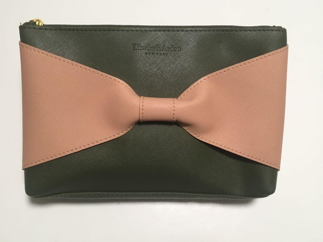 Elizabeth Arden Olive Peach Bow tie Beauty Cosmetics Makeup