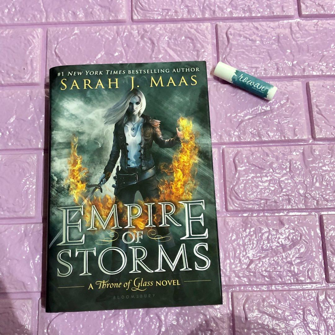 Empire of Storms exclusive edition with BONUS CONTENT hardbound brand new and sealed sarah j. Maas Throne of Glass