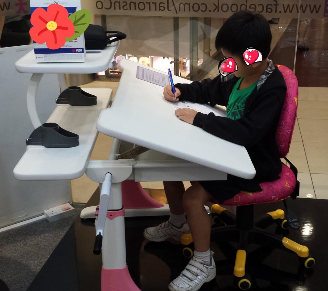 Sensational Ergonomic Adjustable Desk And Chair On Carousell Ocoug Best Dining Table And Chair Ideas Images Ocougorg