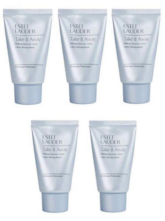 ESTEE LAUDER Take It Away Makeup Remover Lotion. 30ml x 5. New