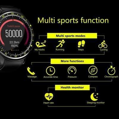F1 Touchscreen GPS Sport Smartwatch