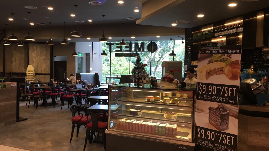 Halal cafe hiring full time cafe crew / kitchen cook
