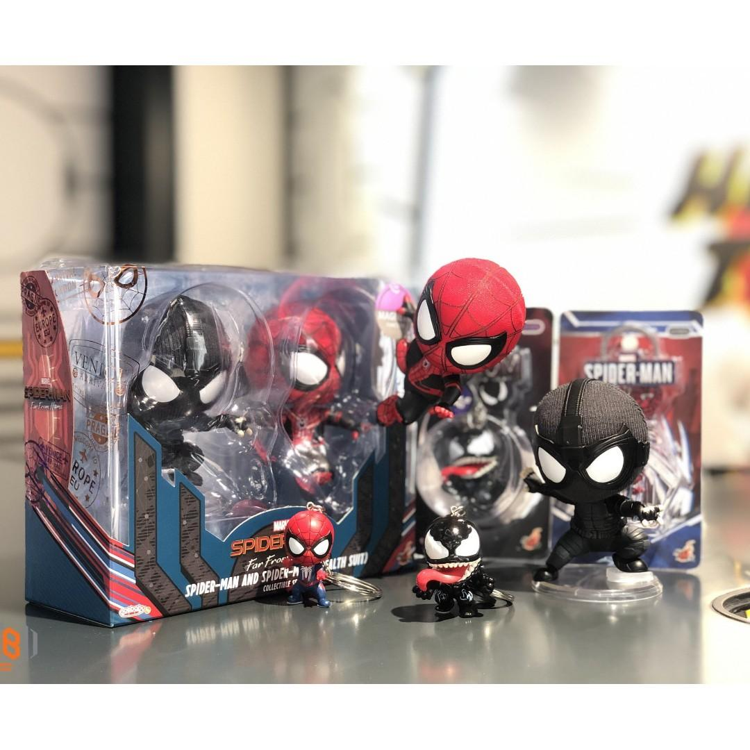 hot toys Spider-Man: Far from Home Spider-Man Cosbaby 蜘蛛俠 爬牆版