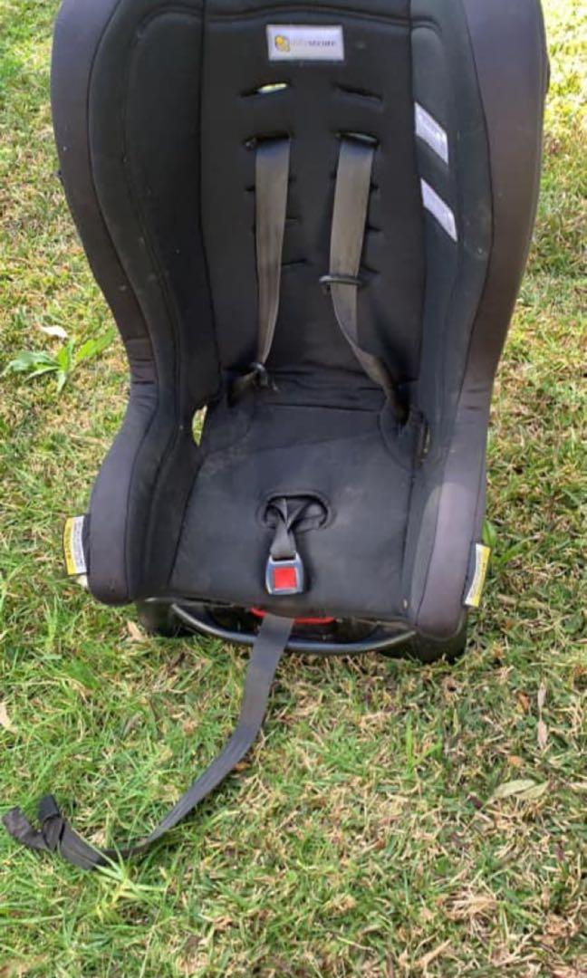 Infasecure glider rear and front facing 0 a 4 years car seat