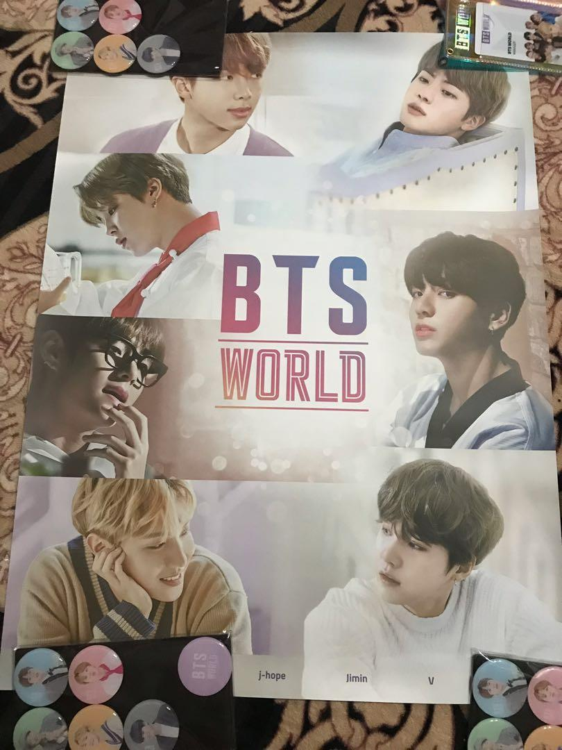 [ITEMS ARRIVED/READY STOCK LOOSE] BTS WORLD OST LIMITED EDITION