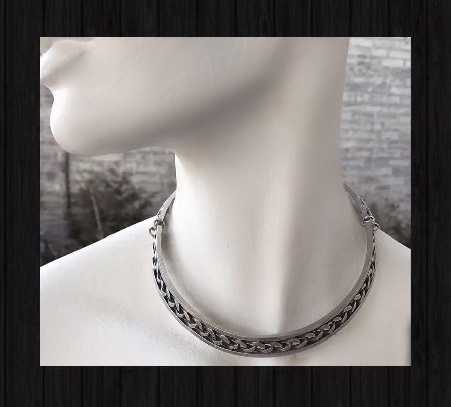 Jorgen Jensen Vintage Necklace & Bracelet Set 1960s