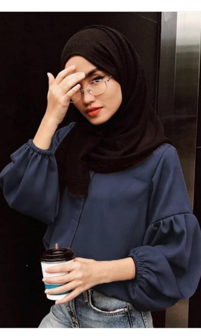 Lana Blouse Vanilla Hijab