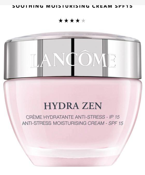 Lancôme hydra zen anti stress moisturising day cream RRP$90