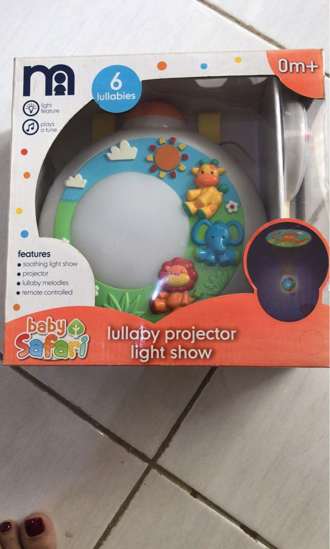 Lullaby song automatically