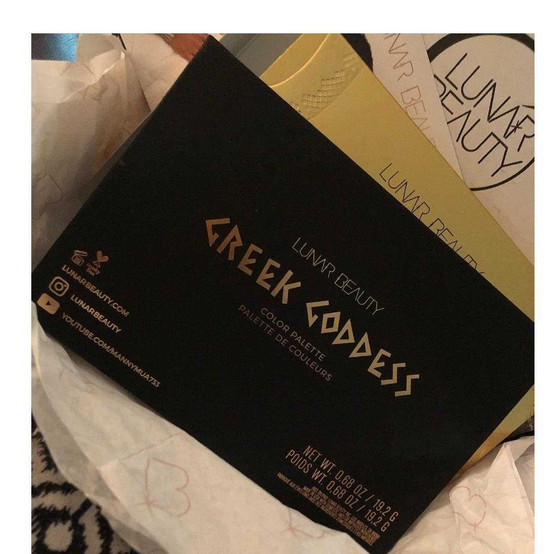 LUNAR BEAUTY GREEK GODDESS COLOUR PALETTE BRAND NEW & AUTHENTIC [NO SWAPS, PRICE IS FIRM]