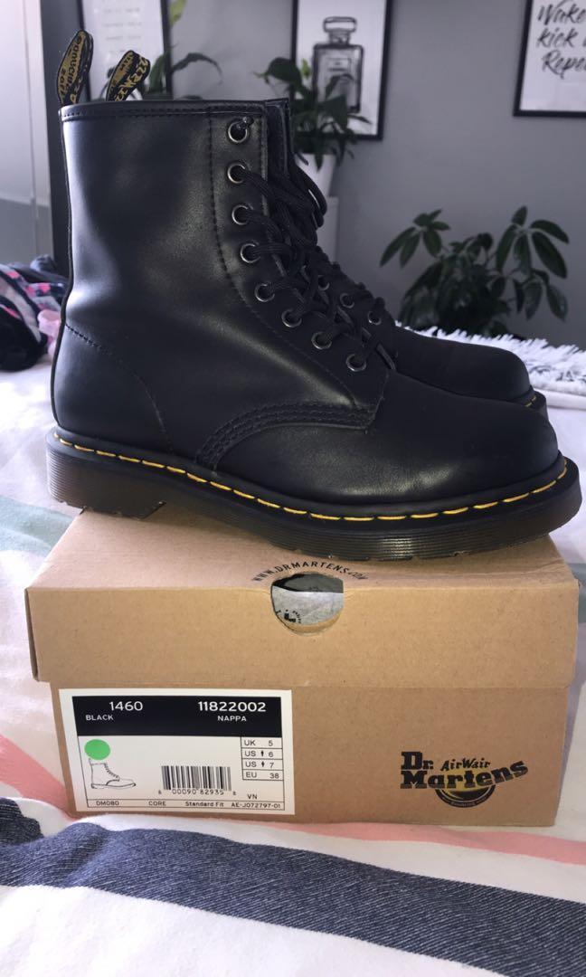 Nappa Leather Doc Martins