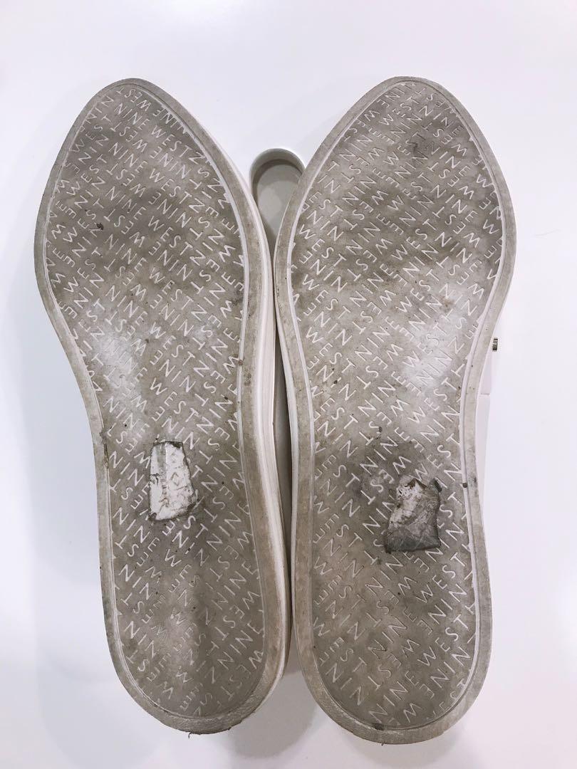 nine west 平底鞋 休閒鞋 尖頭鞋 卯釘 個性 有型