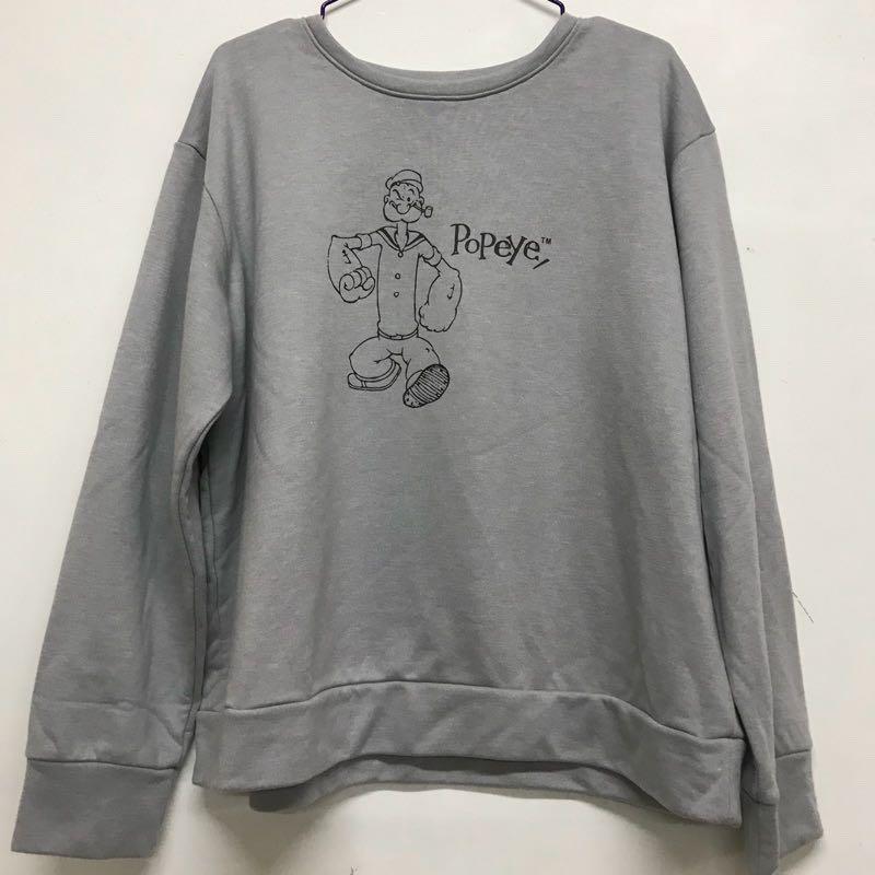 Queen shop popeye長袖T
