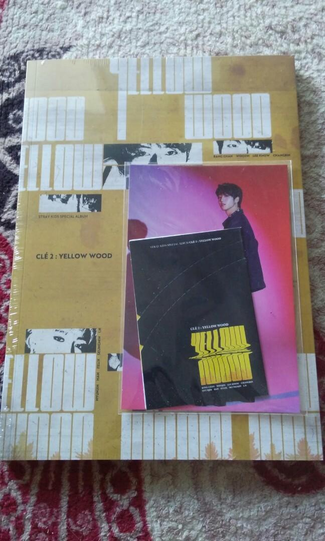 [READY STOCK] SKZ YELLOW WOOD CLE2 VER WITH PREORDER BENEFIT