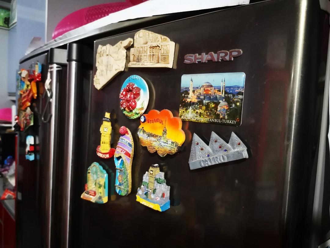 Refrigerator 4 doors, Peti Sejuk 4 pintu 700 Litre