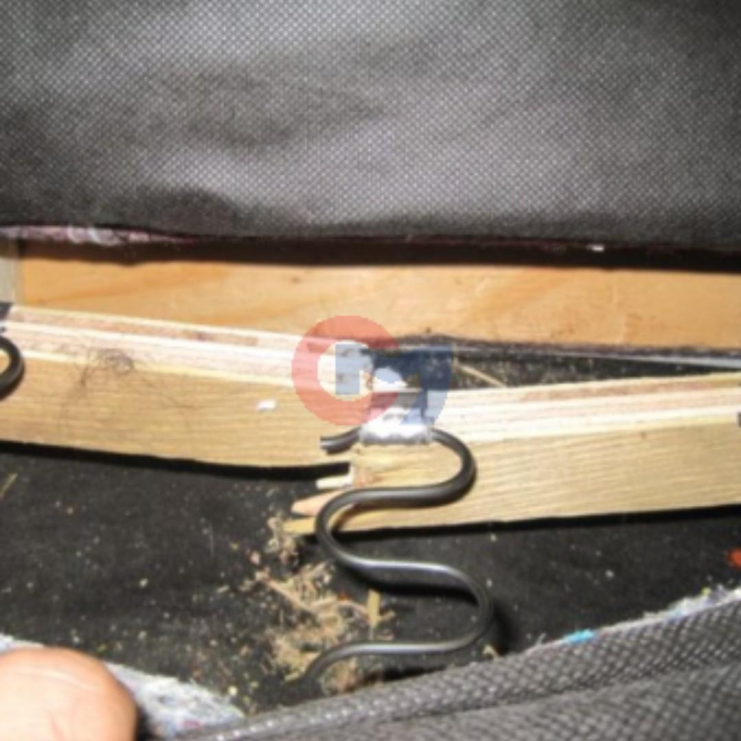 Repair Sofa Spring, Wooden Frame, Belting