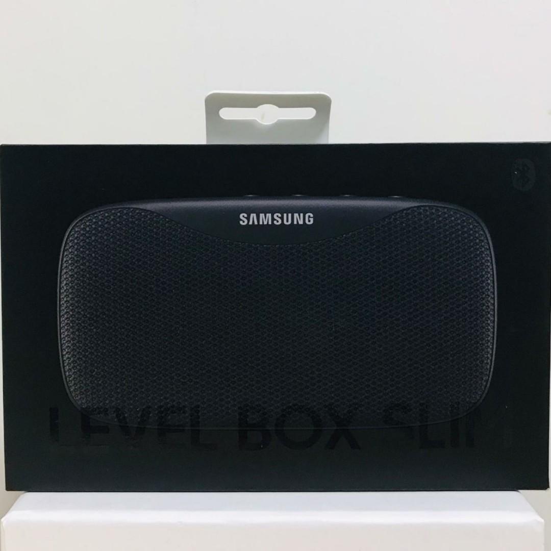 三星Samsung LEVEL BOX Slim (Black) 便攜式 藍牙喇叭 (10個以上批發價發售,內洽)