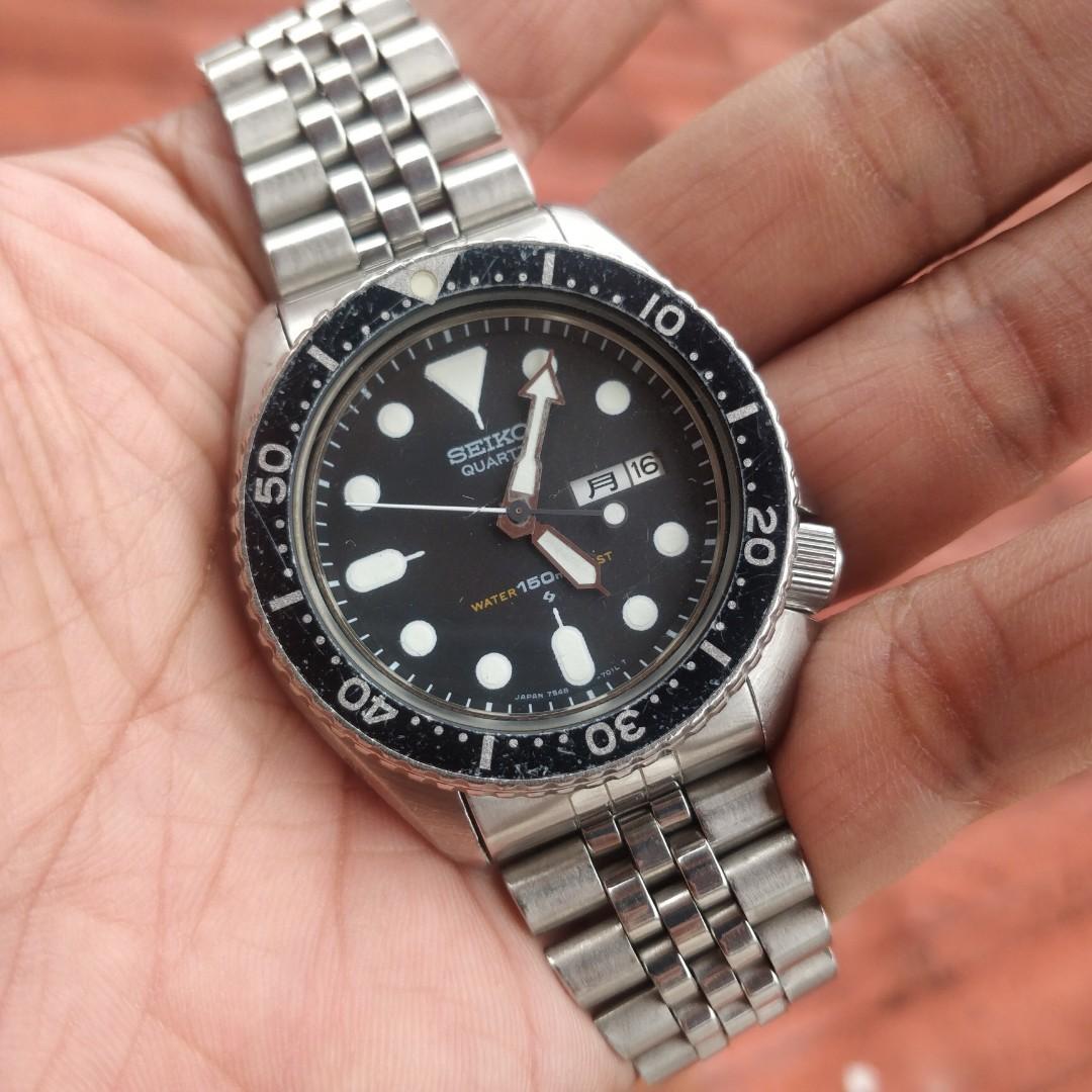 Seiko Diver 7548 Quartz