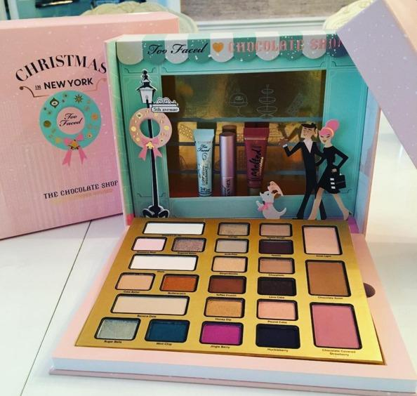 Too Faced Christmas In New York The Chocolate Shop Makeup Set BRAND NEW & AUTHENTIC (PRICE IS FIRM)