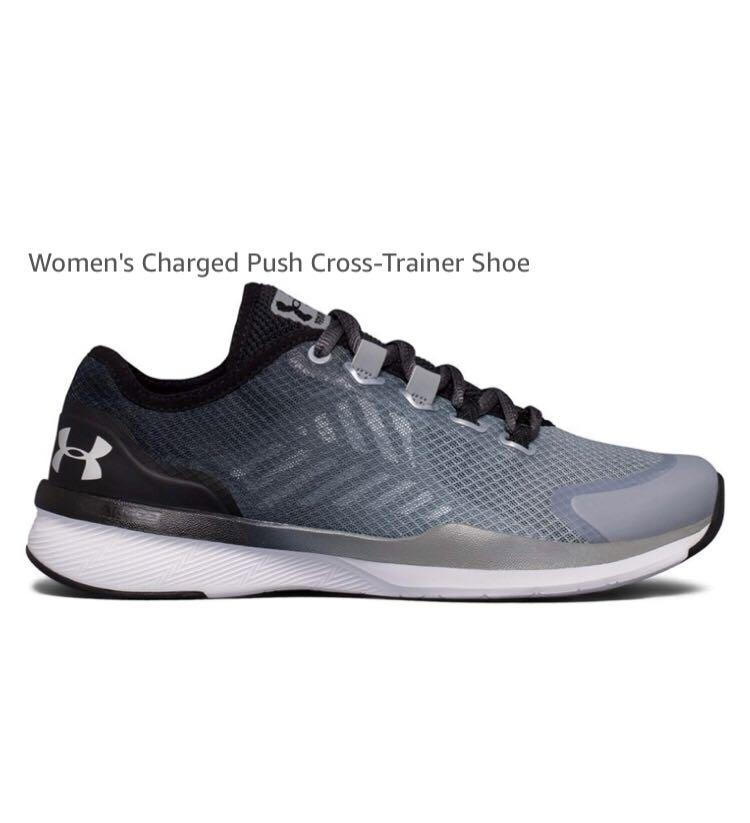 Under Armour Charged Pushed Cross-Trainer Running Shoe